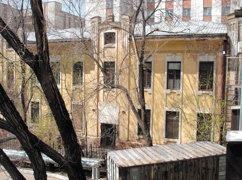 доходный дом гржибовского хабаровск 1