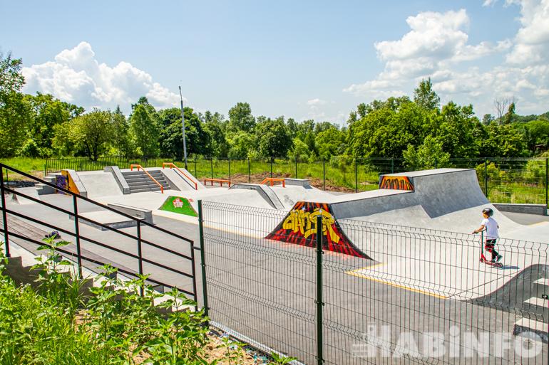 скейт парк в хабаровске северный 32
