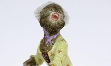 Статуэтка из «Обезьяньей капеллы» в собрании Дальневосточного художественного музея