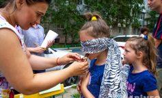 Метатель дротиков и дегустатор: соревнования среди семей прошли в Хабаровске