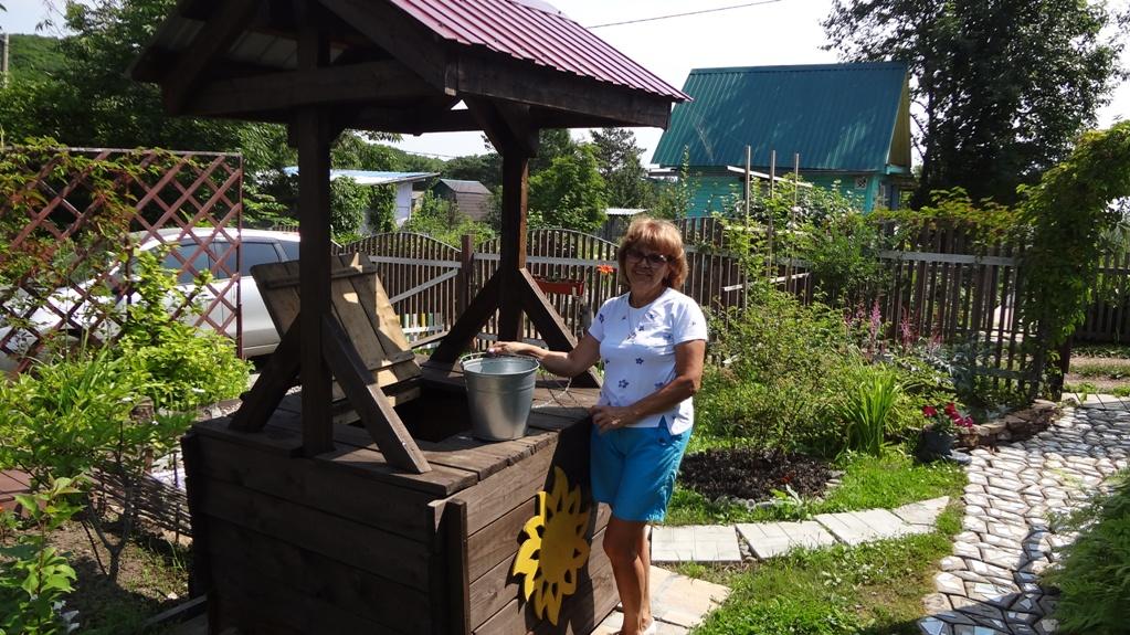 Победитель конкурса «Дачный сезон» Наталья Коробкина и её дача