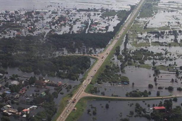 Когда бушевал «Чёрный Дракон»: наводнения на Амуре