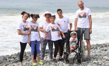 «Крылатое море»: муниципальный грант помог детям-инвалидам увидеть море
