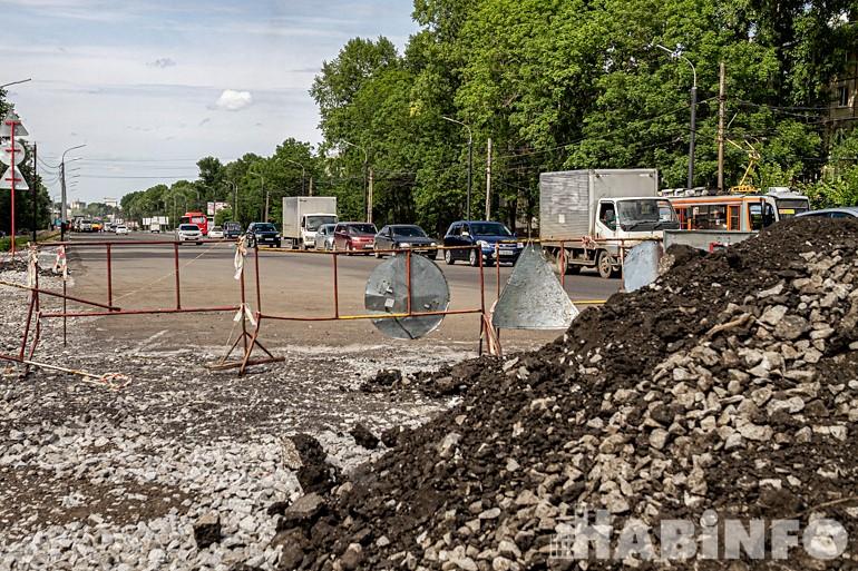 Хабаровские автотрассы: когда отремонтируют дорогу на Выборгской?