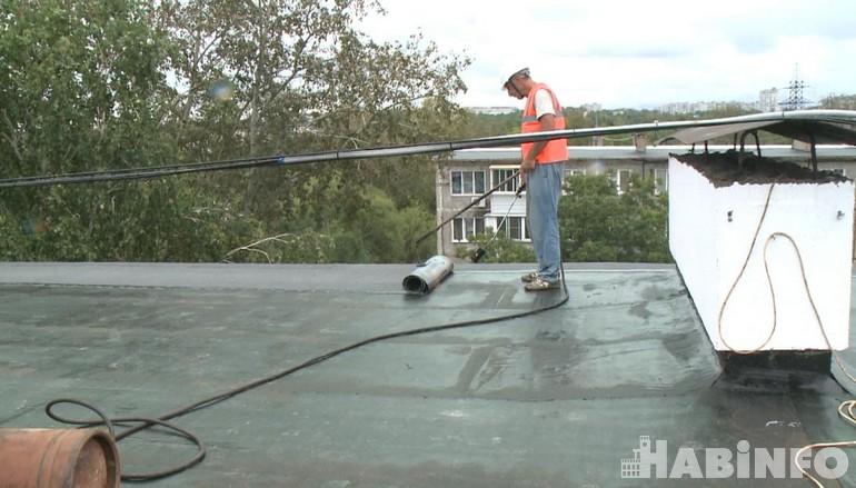 ремонт крыши дома 6