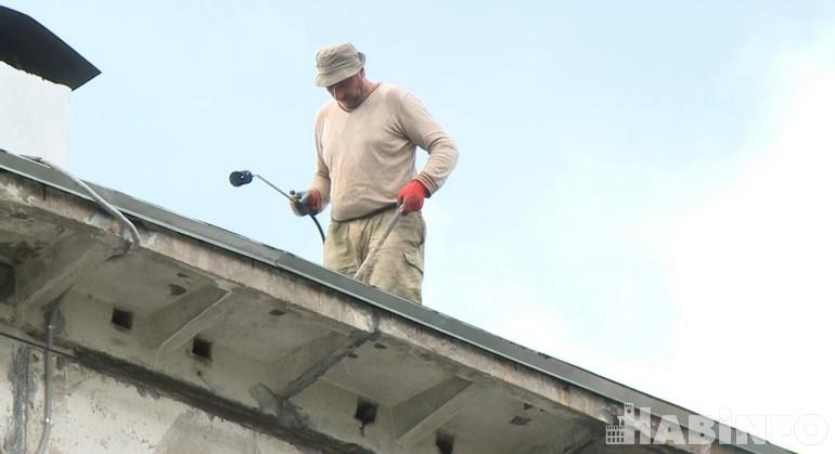 ремонт крыши дома 3