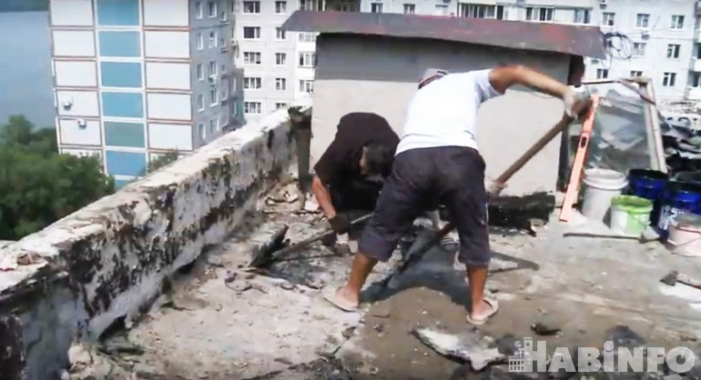 ремонт крыши дома 2