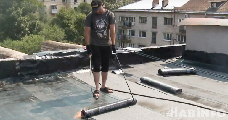 ремонт крыши дома