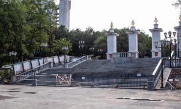 Лестница на Шевченко: когда откроется хабаровская достопримечательность?