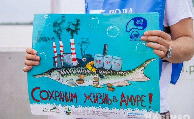 Экологическая акция «Береги берега» прошла на территории арены «Ерофей»