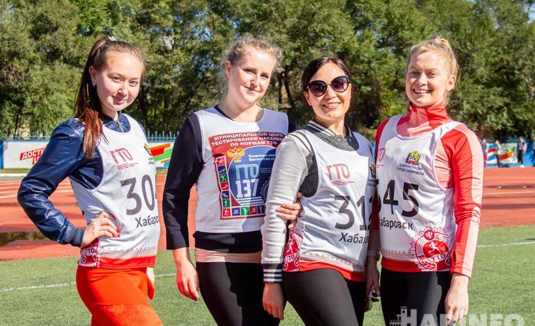 Районный фестиваль ГТО прошел на стадионе «Локомотив» в Хабаровске