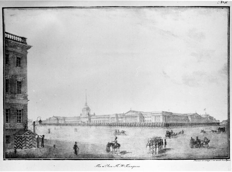 гравюры санкт петербурга 5