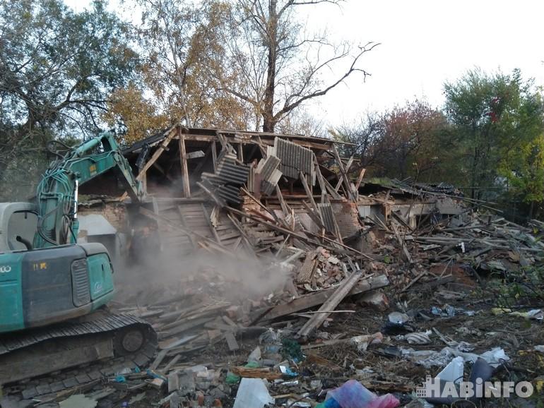 Хабаровск избавляется от старых бараков
