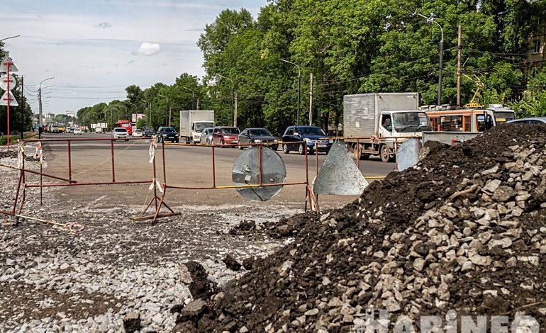 Улицу Краснореченскую отремонтируют только в следующем году