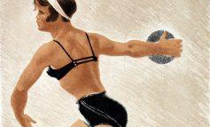 Образ атлета в работах Александра Самохвалова из коллекции Дальневосточного художественного музея