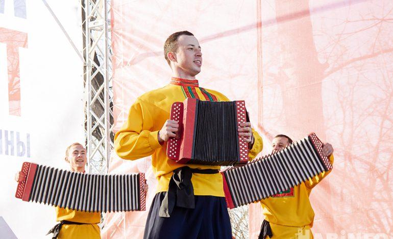 Немного света и тепла: День народного единства в Хабаровске