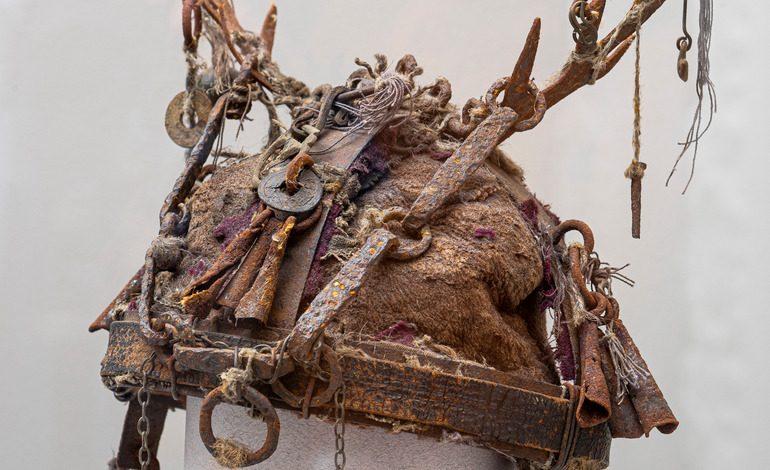 Шаманская корона в экспозиции Дальневосточного художественного музея