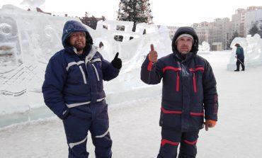 В Хабаровске завершился международный конкурс «Ледовая фантазия-2020»