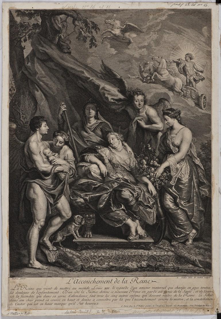 Три гравюры из собрания Дальневосточного художественного музея по шедеврам П. П. Рубенса