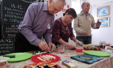 Соревнования со вкусом: роллы от пенсионеров
