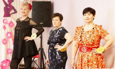 Дамы серебряного возраста соревновались на конкурсе красоты