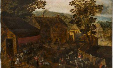«Сельский праздник» фламандского художника в коллекции Дальневосточного художественного музея