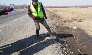 Отремонтированные в прошлом году дороги не пережили зиму