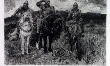 Василий Васильевич Матэ и его гравюры