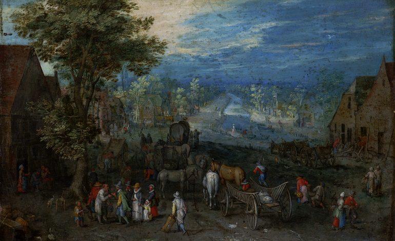«Пейзаж» Яна Брейгеля Старшего в собрании Дальневосточного художественного музея