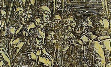 «Взятие Иисуса в Гефсиманском саду» Х. С. Бехама из собрания Дальневосточного художественного музея