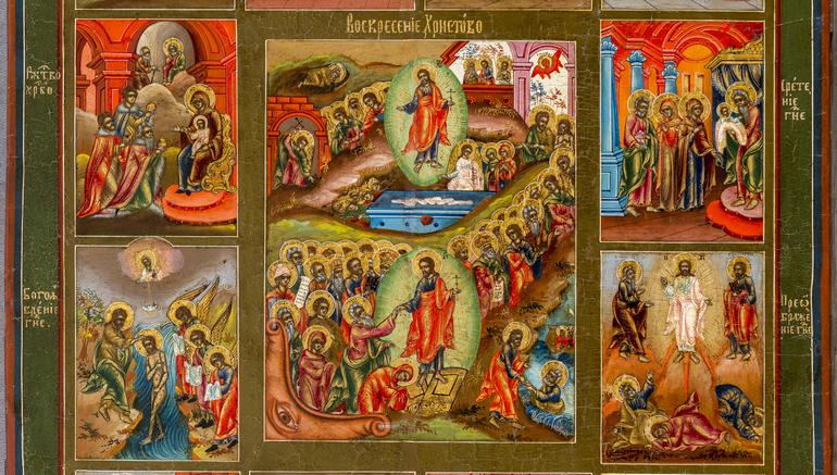 «Воскресение Христово» в коллекции Дальневосточного художественного музея