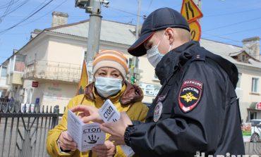 Горожане попали: полиция и Росгвардия патрулируют улицы Хабаровска