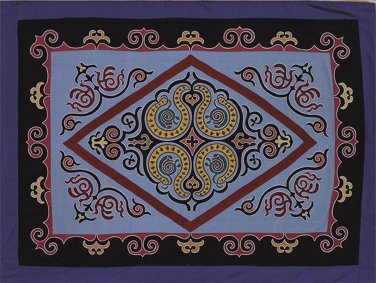 Приамурский орнамент на ульчских коврах и нанайских халатах из фондов Дальневосточного художественного музея