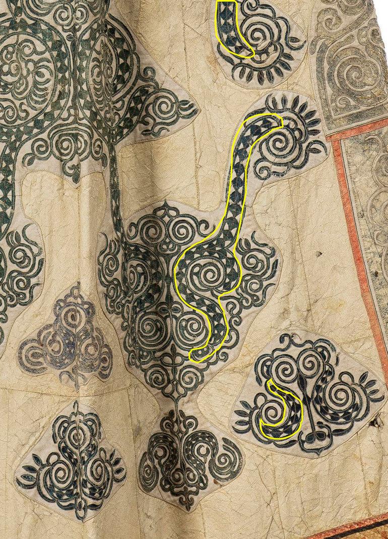 Немного семантики, или О чём говорят орнаменты приамурских народов в традиционных халатах сикэ и амери