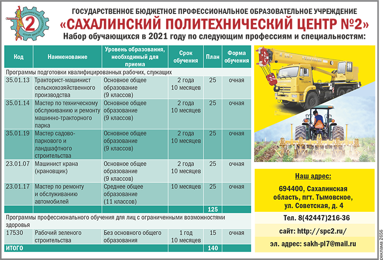 сахалинский политехнический центр 2