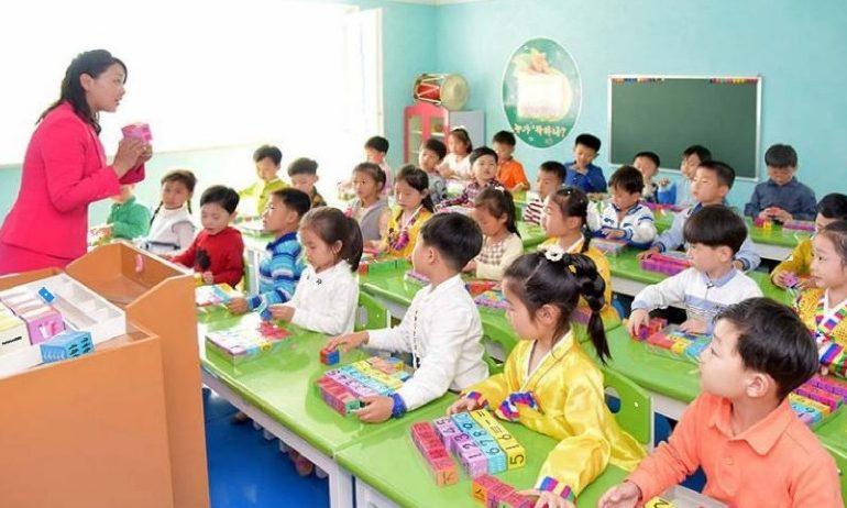 Дети в КНДР