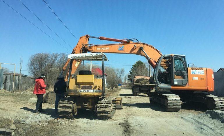 Ремонт дорог по нацпроекту стартовал в Хабаровском районе досрочно