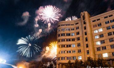 Салют в честь 75-летия Победы прогремел в Хабаровске