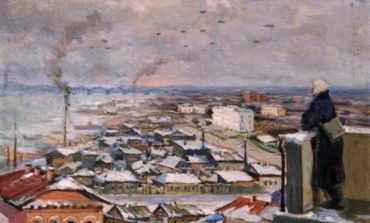Хабаровск военный: Николай Баскаков и его картина в коллекции Дальневосточного художественного музея