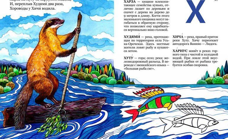 Дети Хабаровского края нарисовали «Азбуку малой родины»