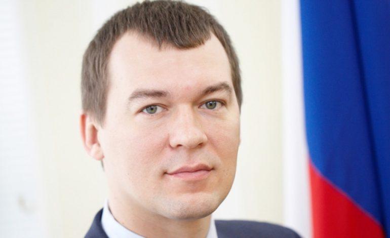 ВРИО губернатора Хабаровского края Михаил Дегтярёв приступил к работе в регионе