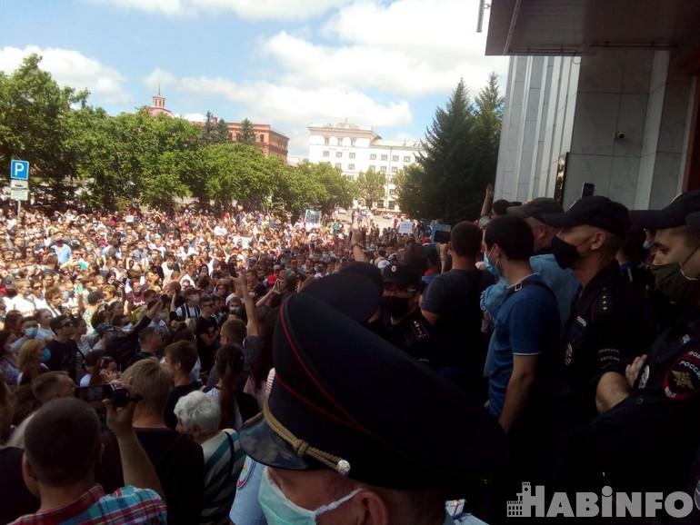 митинг хабаровск 100 дней
