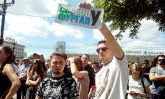 Тысячи жителей края вышли на митинг в поддержку Сергея Фургала