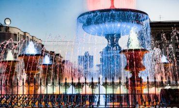 Расписание работы фонтанов в Хабаровске