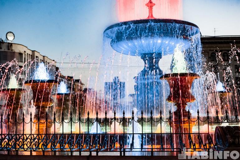 Расписание работы фонтанов в Хабаровске 2021