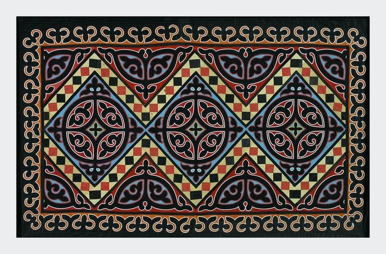 Приамурские текстильные ковры в коллекции Дальневосточного художественного музея