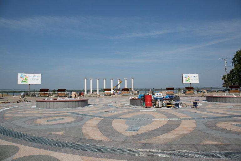 Нет сил ждать: когда откроется музфонтан на набережной Хабаровска