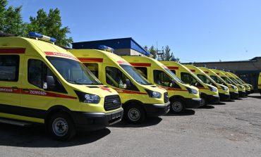 Новые автомобили для скорой помощи в Хабаровском крае