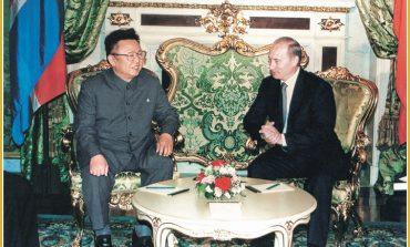 Ким Чен Ир и журналистка России