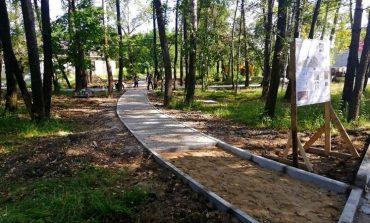 Сквер по просьбам жителей  делают в Берёзовке
